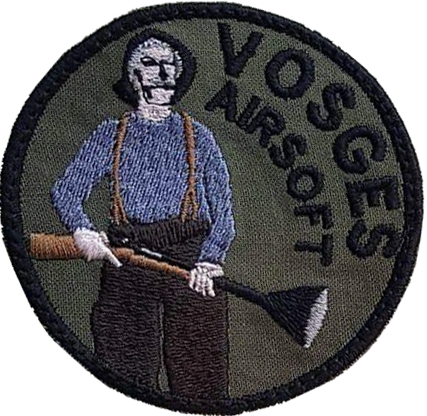 Patch Vosges Airsoft